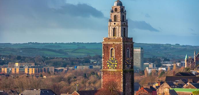 Iglesia-de-Santa-Ana ▷ Que ver en Cork. Las 10 cosas que no te puedes perder en esta ciudad irlandesa