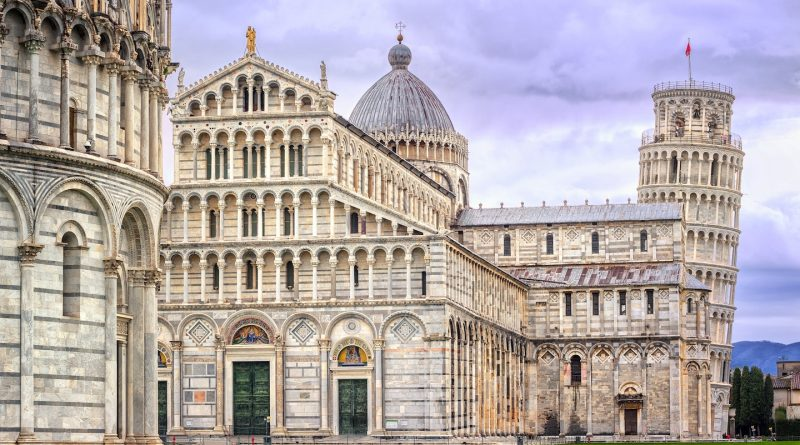 Que ver en Pisa.Pisa. Piazza dei miracoli