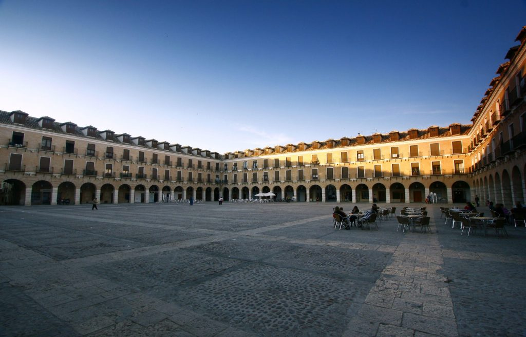 Plaza Mayor de Ocaña en Toledo