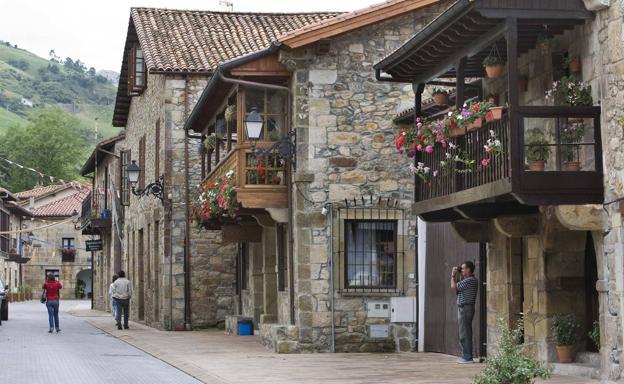 Lierganes, centro histórico