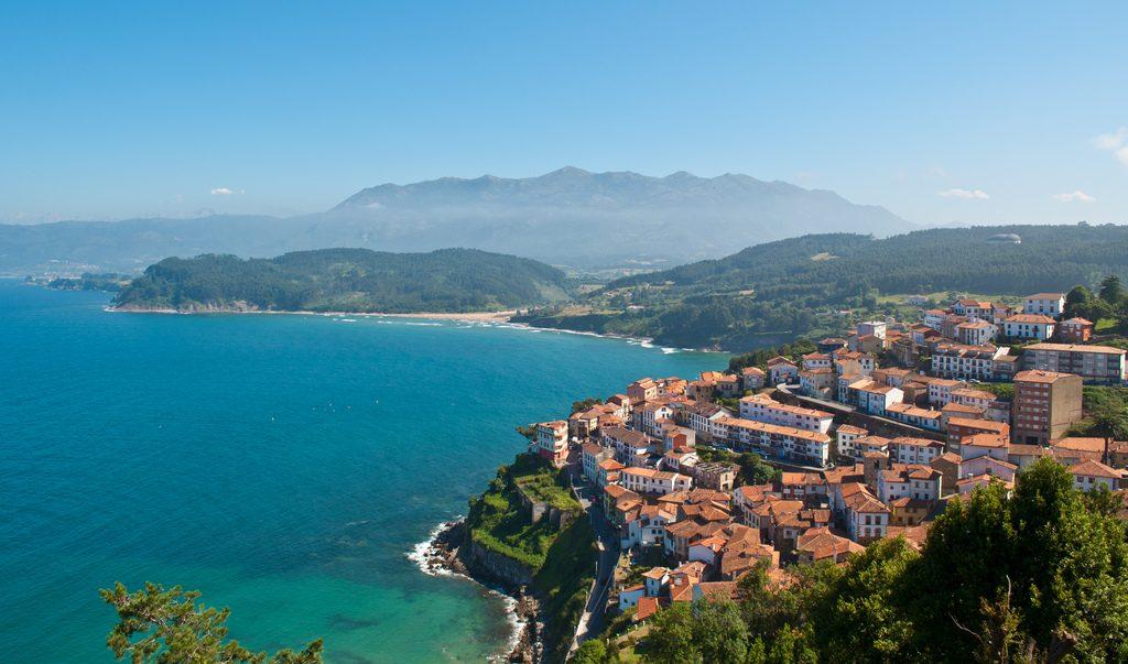 Mirador de Lastres en Asturias