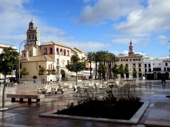 Plaza Mayor de Ecija
