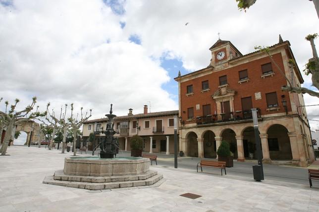 Herrera de Pisuerga Plaza Mayor