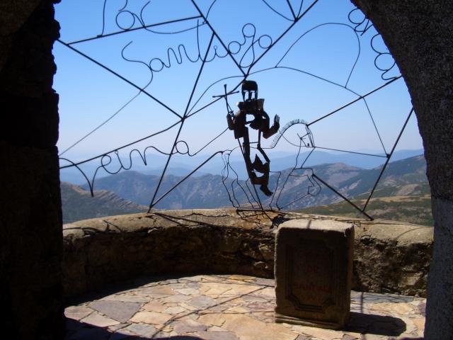 Mirador-de-Santiago ▷ Que ver en el Santuario de la Peña de Francia