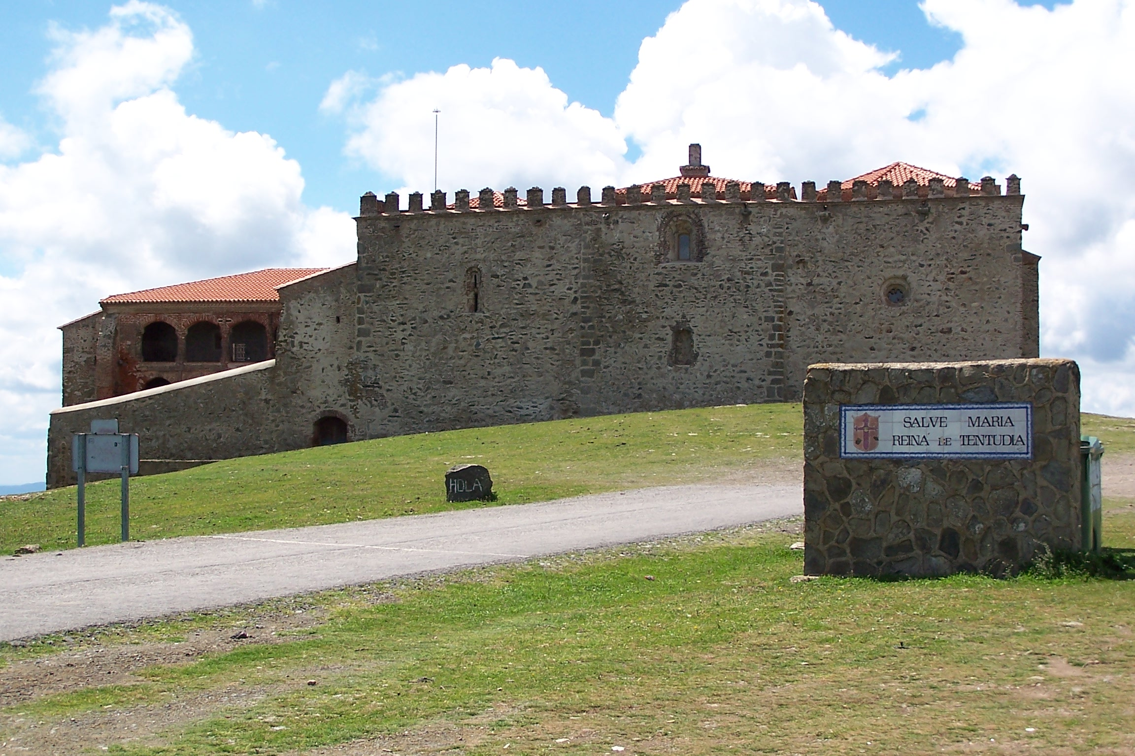 Monasterio de Tentudia en Calera